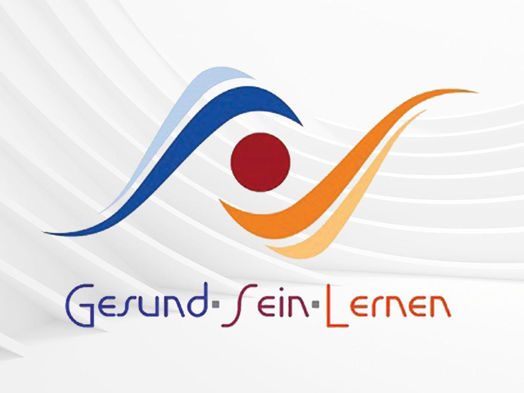 gesund sein lernen logo