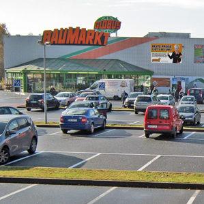 globus suhl parkplatz